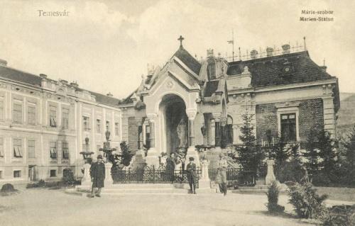 Temesvár:Mária szobor,Dózsa György kivégzésének helye,1907.