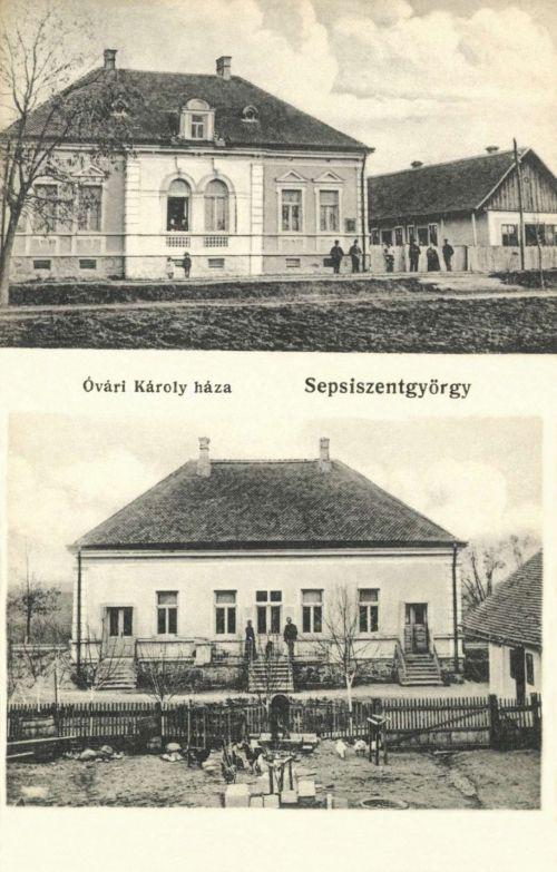 Sepsiszentgyörgy:Óvári Károly háza,1913.