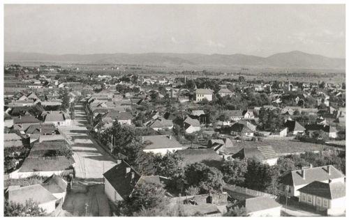 Sepsiszentgyörgy:látkép,1943.