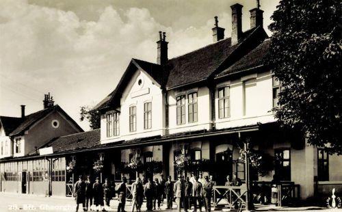 Sepsiszentgyörgy:vasútállomás,(pályaudvar),1938.