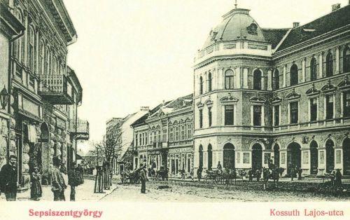 Sepsiszentgyörgy:Kossuth Lajos utca,1901.