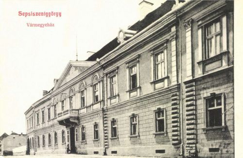Sepsiszentgyörgy:Vármegyeháza,1907.