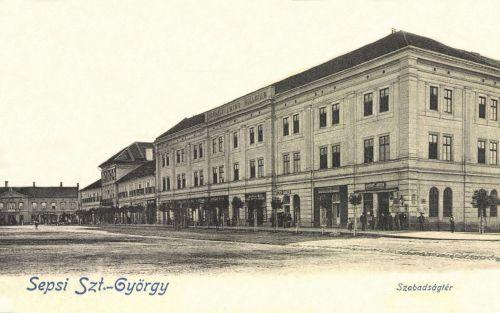 Sepsiszentgyörgy:Szabadság-tér,Székely Mikó Kollégium,1903.
