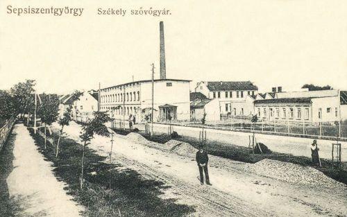 Sepsiszentgyörgy:Székely Szövőgyár,1911.