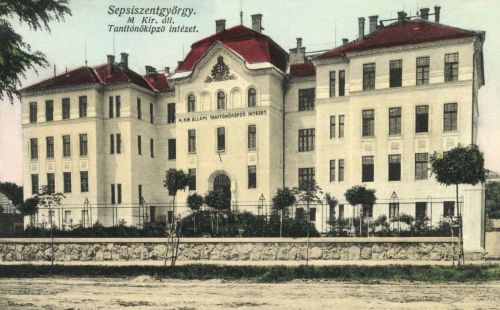 Sepsiszentgyörgy:Magyar Királyi Állami Tanitóképző Intézet,1916.