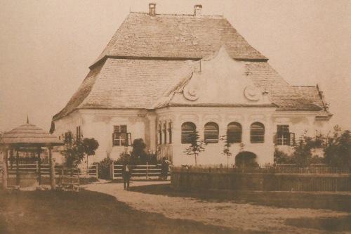 Sepsiszentgyörgy:Daczó kúria,1865 körül.