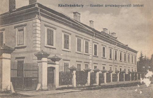 Erzsébet árva leány nevelő intézet,1918.