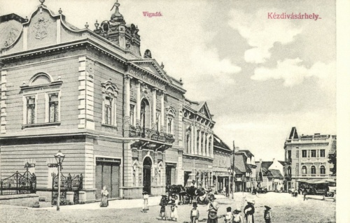 Kézdivásárhely:Városi Vigadó Szálló és Posta,1907.