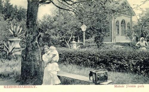 Kézdivásárhely:Molnár Józsiás park,1912.