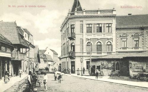 Kézdivásárhely:Magyar Királyi Posta és Távirda hivatal,1908.