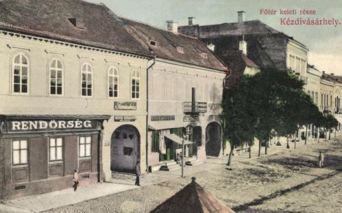 Kézdivásárhely:rendőrség és városháza,1908.