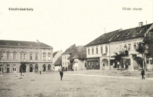 Rendőrség,Vargha Vilmos és Szöcs Mózes üzlete,1915.