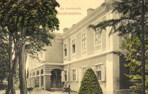 Kézdivásárhely:Királyi Törvényszék,1909.