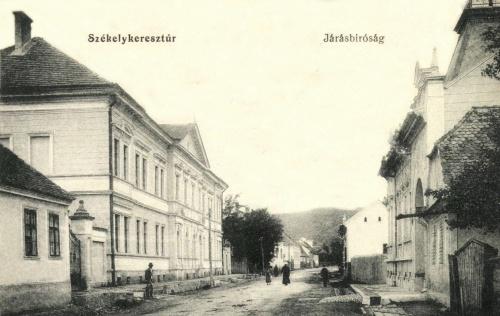 Székelykeresztúr:Járásbiróság,1913.