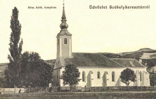 Székelykeresztúr:katolikus templom,1915.