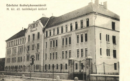 Székelykeresztúr:Magyar Királyi Állami Tanitóképző Intézet,1914.
