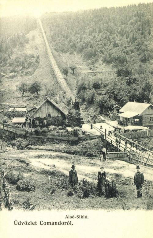 Kommandó:alsó sikló.1905.
