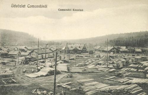 Kommandó:Kaszinó a fateleppel,1914.