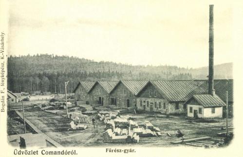 Kommandó:fürész gyár,1905