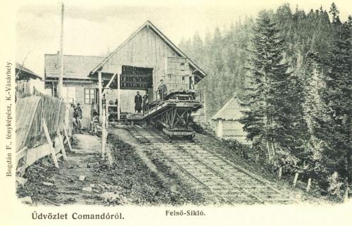 Kommandó:felső sikló,1906