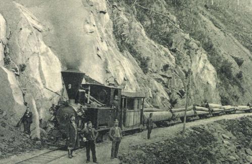 Kommandó:deszka szállító vonat,1904.