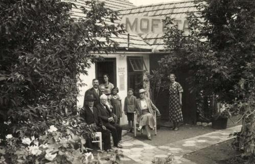 Kovászna:Bene Ferenc Mofettája,1935.