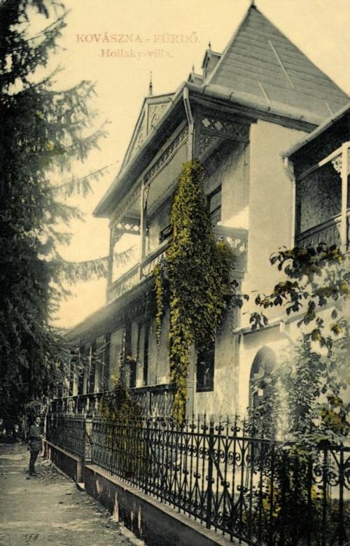 Kovásznafürdő:Hollaky villa,1907.