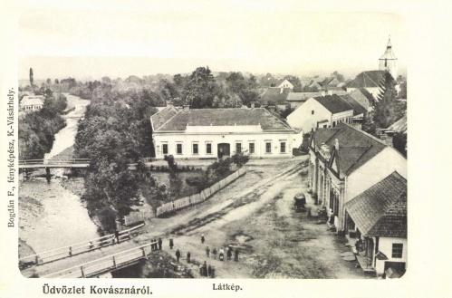 Kovászna:látkép.1906.