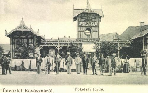 Kovászna:Pokolsár fürdő,1906.