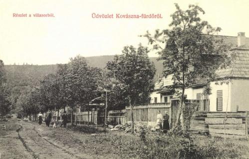 Kovászna:villasor,1908.
